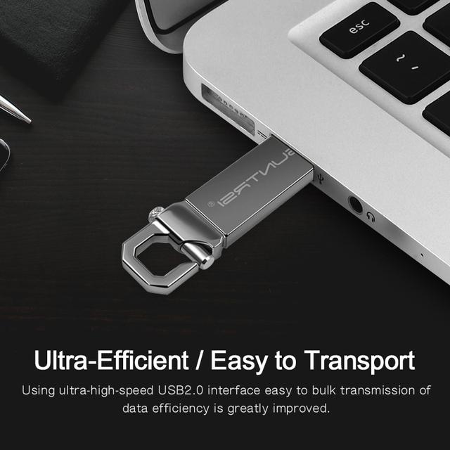 Suntrsi USB Flash Drive 64GB Metal Pendrive High Speed USB Stick 32GB Pen Drive Real Capacity 16GB USB Flash Free Shipping