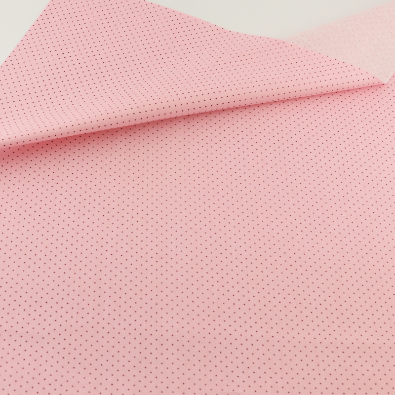 Teramila fabrics pink cute mini dot cotton fabric sewing for Cloth material for sewing
