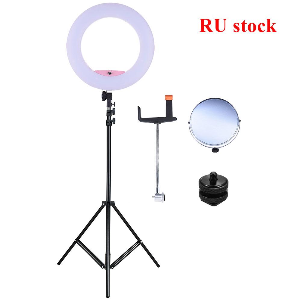 17 7 45cm 96W Studio Ring Light Ringlight LED Video Light Ring Lamp Camera Photography Lighting