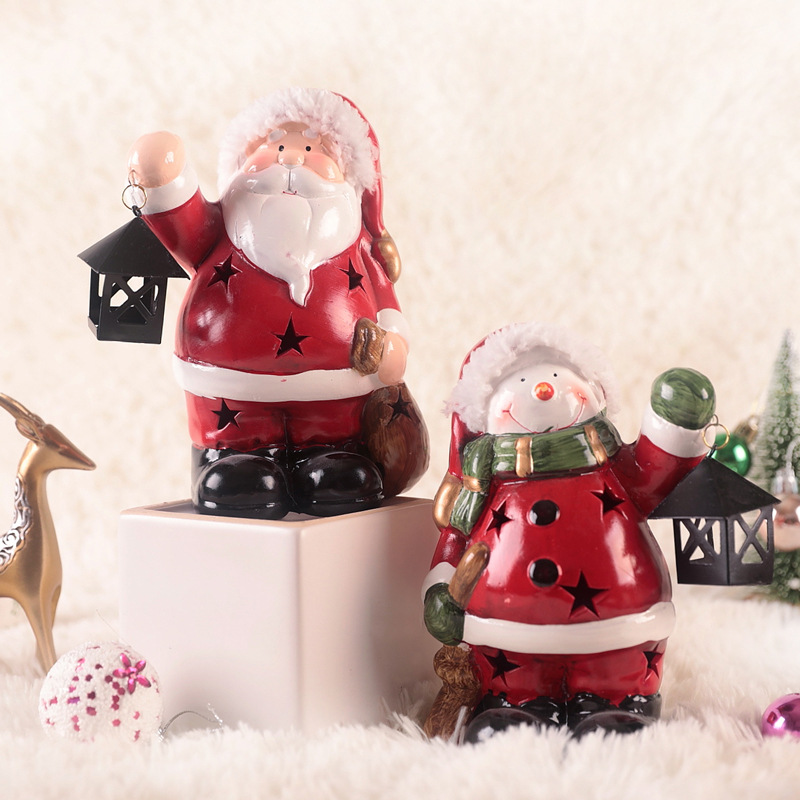 Diamond Santa Christmas Tree Hanging Home Decorative Cute Wood Sleigh Pendant Ornaments Gift Home Hanging Decorations Cute Snowman Aesthetic Appearance