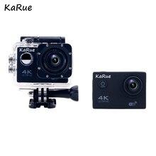 """Karue f60/f60r действие Камера Wi-Fi Ultra HD 4 К Подводные 30 М Спорт на открытом воздухе Камера 2.0 """"ЖК-дисплей 1080 P 60fps Камера Бесплатная S"""