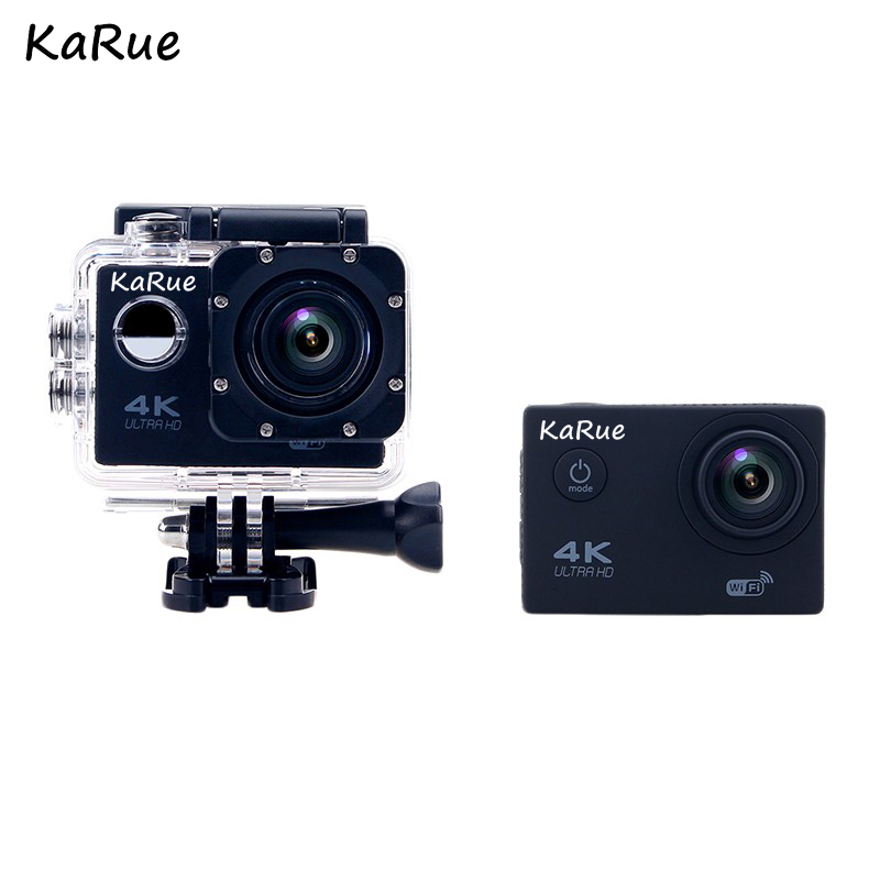 KaRue F60/F60R Action Camera WiFi Ultra HD 4K Underwater 30M Outdoor Sports Camera 2.0 L ...