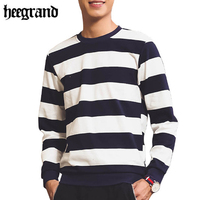 HEE GRAND Hoodie Men Sweatshirt Spring 2017 New Arrival Stripped Pullover Men S Long Sleeved Sudaderas