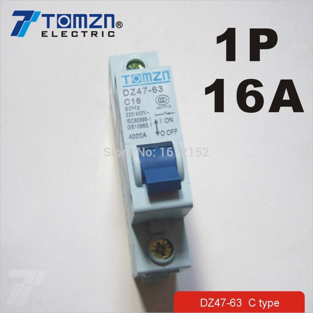 1p 16a 230 400v 50hz 60hz Mini Circuit Breaker Mcb C45 C Type In Mccb Breakers From Home Improvement On Alibaba Group
