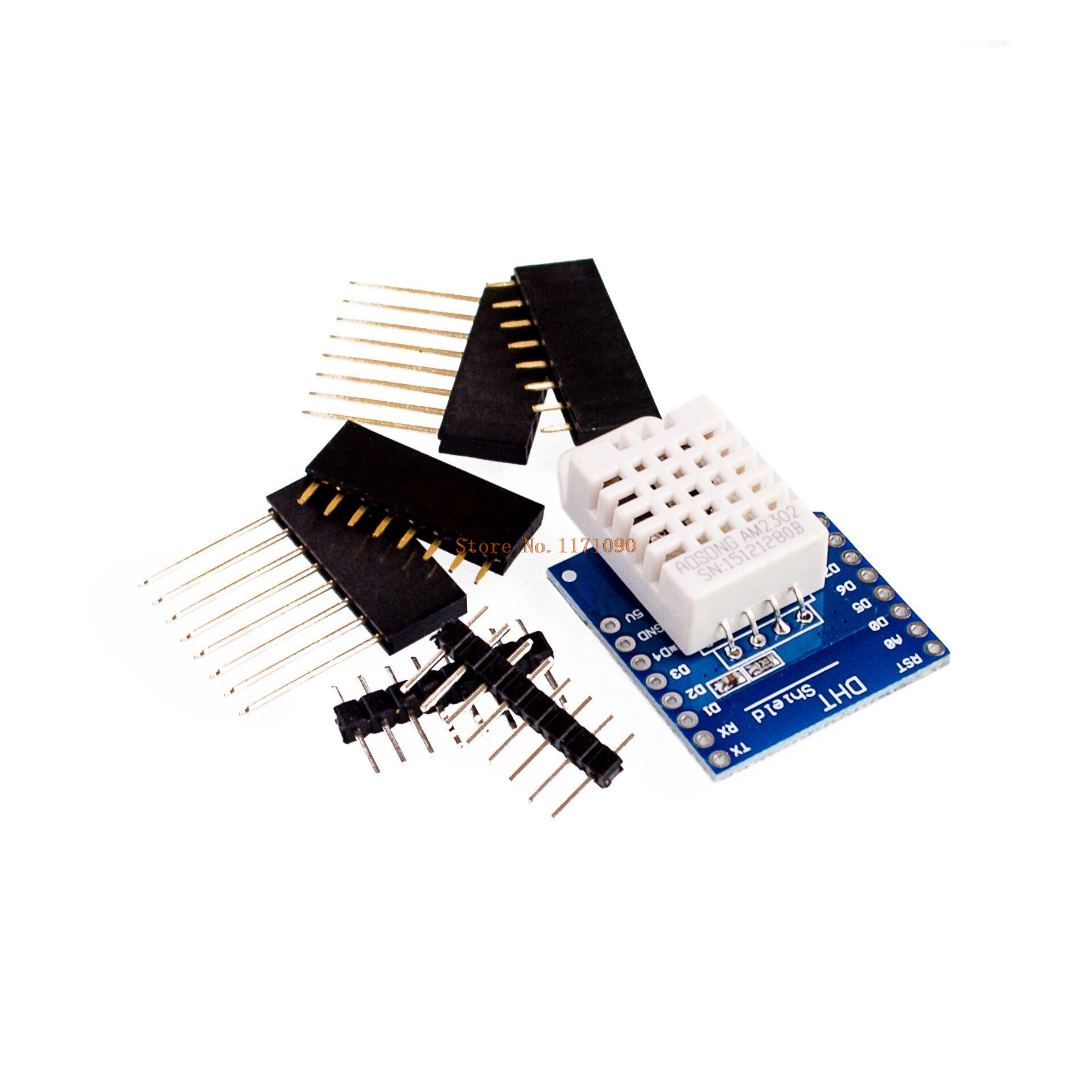 DHT Pro Shield for   D1 mini DHT22 Single-bus digital temperature and humidity sensor module sensor