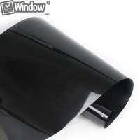 50x 300cm Dark Black Car Window Tint Film Glass VLT 5 2PLY Car Auto House Commercial