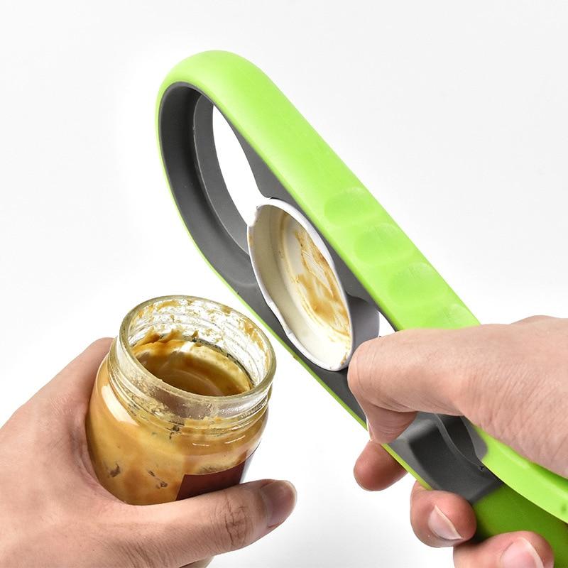 urijk 4 in 1 non-slip twist cap bottle can opener and lid screw jam bottle opener for kitchen