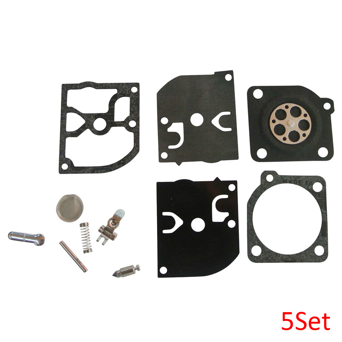 Carb Repair For ZAMA RB-39 Kit For Mcculloch 3214 3216 3516 225 3505 3805 3818 5Set