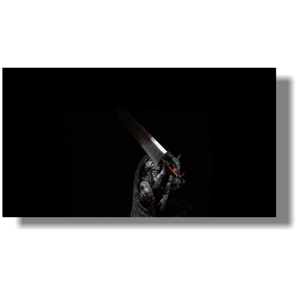 Berserk Anime large sizes custom made Berserk poster fabric silk poster print Home Decoration Colorful painting <font><b>120x60</b></font> cm image