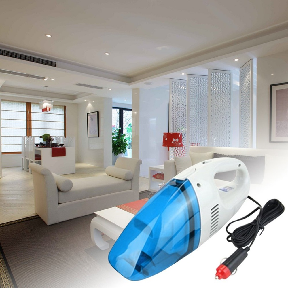 12V Mini Car Vacuum Cleaner Hot sale multifunctional Hand Mini Car/Home vehicle using Vacuum Cleaner For Home Wet&Dry 75w robot vacuum cleaner wet and dry home desktop car wireless rechargeable mini hand held automatic vehicle dropshipping