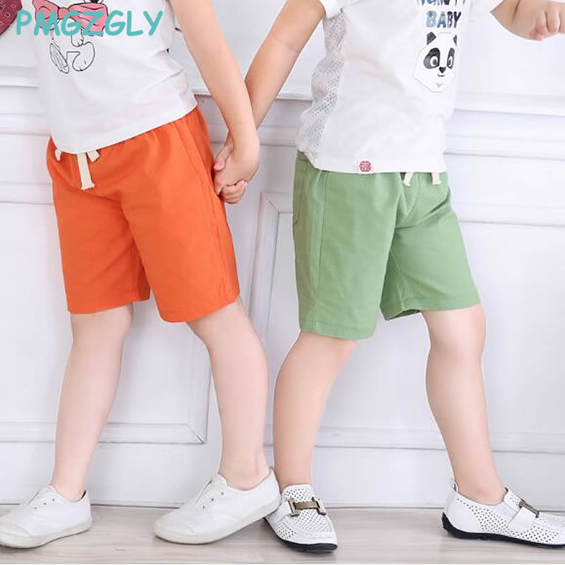 78dee3fd17fa Boy Kids Shorts Children Summer Cotton Short Pants For Boys Thin Toddler  Shorts Casual Clothing 2