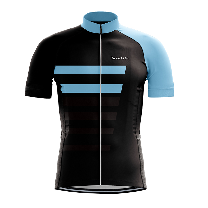 Runchita Men Summer Short Sleeve Cycling Jerseys Bycicle Clothing Ropa Ciclismo Clothes Quick Dry Sportwear