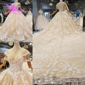 Image 5 - AIJINGYU turquie robes de mariée Robe indienne pure Robe mère de la mariée en fête deux en un Robe Petite robes de mariée