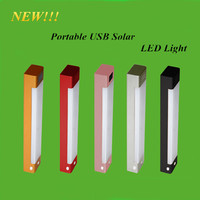 New Product Portable USB Solar LED Light Furniture Accessories SOS Flash Light W/ Beautiful Box
