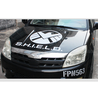 Noizzy Marvel Agents of SHIELD Hawk Logo Car Auto Sticker Decal Hood Bonnet Roof Vinyl Tuning Automobile Tuning Car Styling