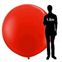 Adeeing 72 Cal Super Duży Okrągły Lateksowy Balon do Pokazania Dekoracji