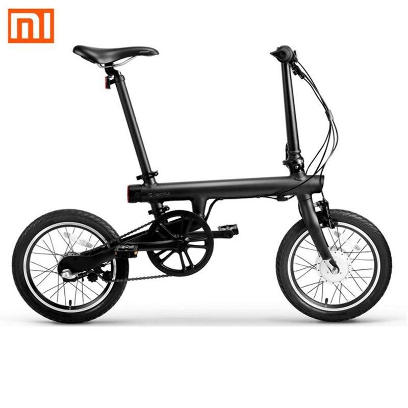 Original Xiaomi QiCYCLE-EF1 Bluetooth 4.0 Apoio APP 250W Do Motor Bicicleta Elétrica Inteligente de Dobramento da Bicicleta Elétrica