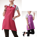 1pcs Professional Hairdressing Apron Beauty with Collar Hair Cutting Aprons Barber Home Styling Salon Hairdresser Waist Cloth