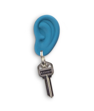 (1) Fred Ear Ring Ear Key Chain Kid Novelty Gift Keychain SZ2848-in Key  Chains from Jewelry   Accessories on Aliexpress.com  ea5d4a938