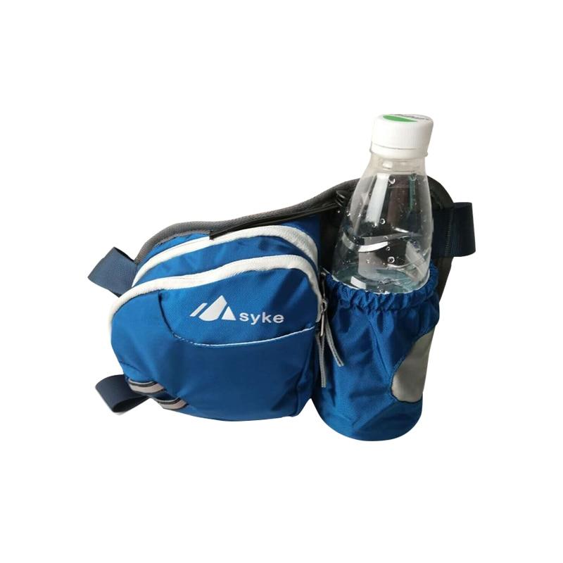 SYKE Men Waterproof Mountaineering Waist Bag Casual Small Travel Chest Bag Kettle Bag Pocket font b