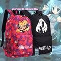 Hatsune Miku Vocaloid Vocanese Mochila Anime sacos Mochilas Estudante Back to School COMO Presente 45x32x13 cm meninos Meninas Mochila