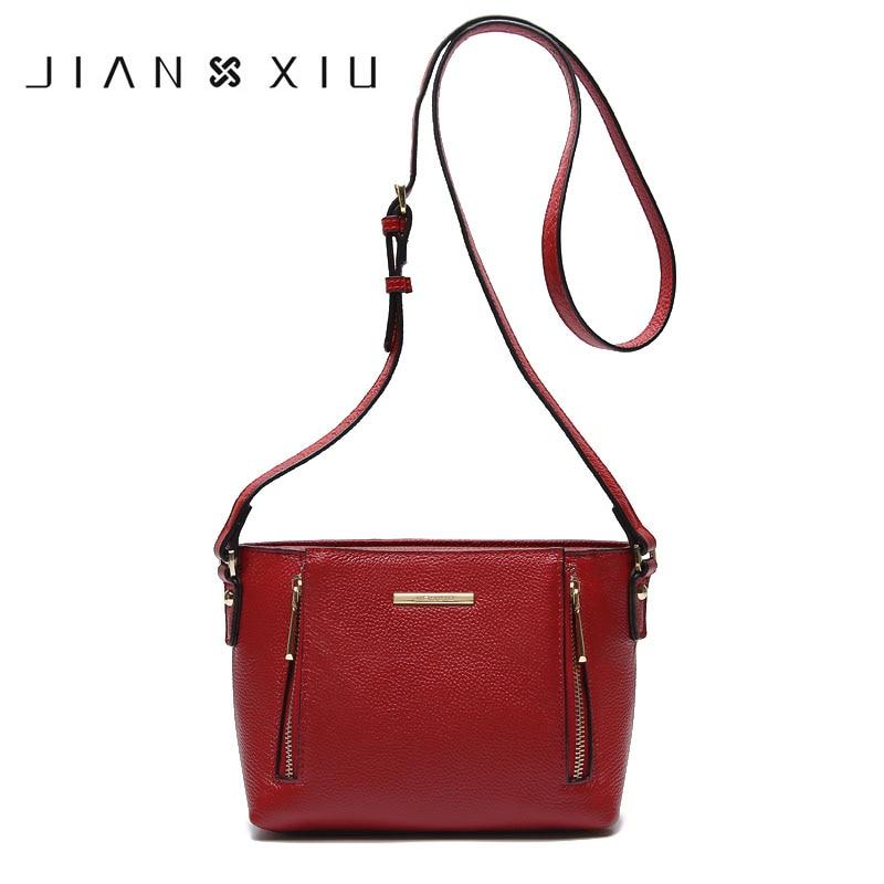 Genuine Leather Bag Small Bag Messenger Bags Shoulder Crossbody fashion bag El paquete del hombro de la Sra 2018 New Arrival