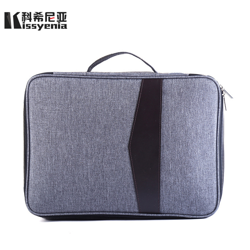 Kissyenia 13 Inch Laptop Briefcase Men Business A4 HandBags Multifunction Waterproof Macbook Case Travel Bags Portfolio KS1051
