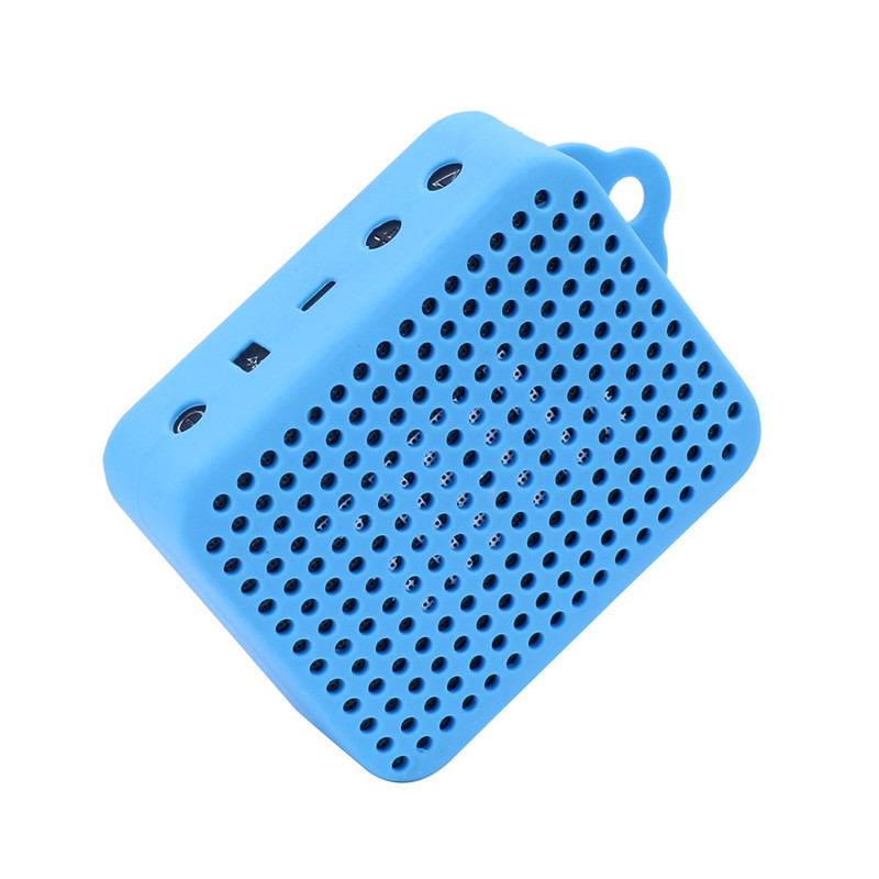 ZEJAT Soft Protective Silicone Cover Case For JBL GO2 Bluetooth Speaker Shockproof Speaker Cover