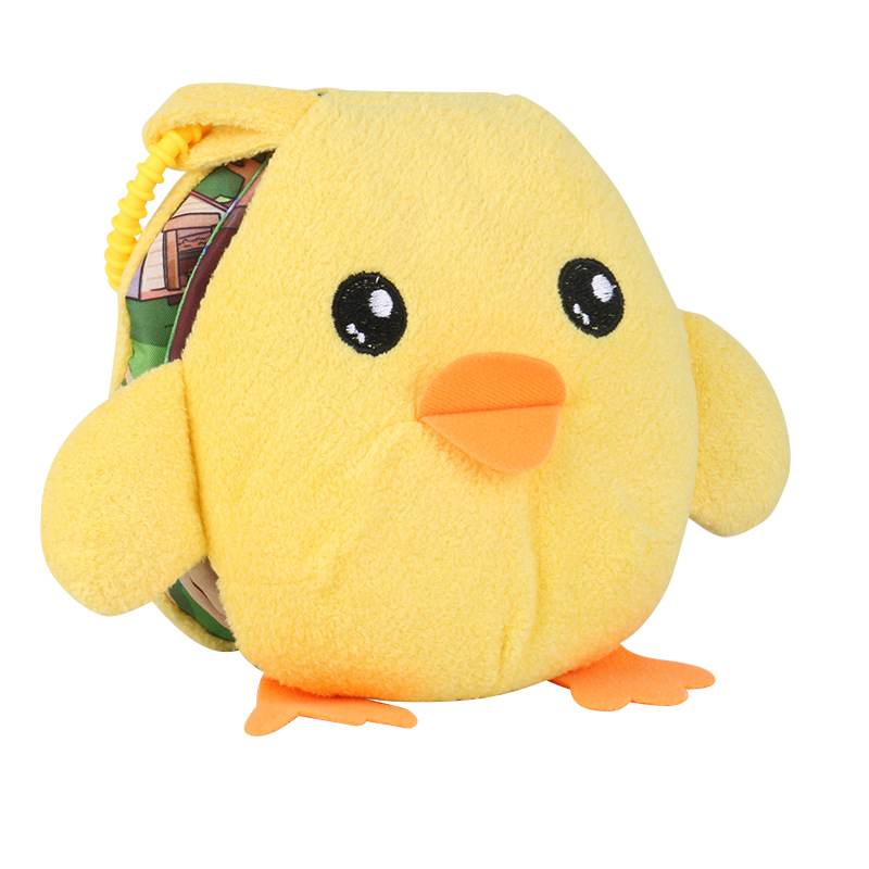Educational Toys Plush Soft Cloth Book Cartoon Animal Cognition Infant Kids Early Development Learning Education Book For Baby
