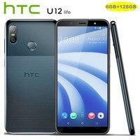 Фирменная Новинка htc U12 жизни 6 ГБ + 128 GB LTE мобильный телефон Android8.1 Snapdragon 636 Octa Core 1080X2160 P двойной Камера 6,0 дюймовый смартфон