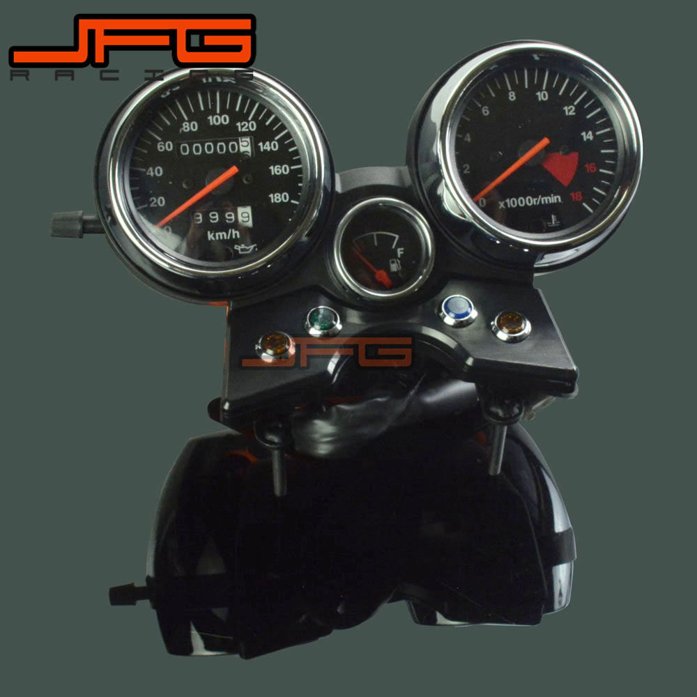 MagiDeal Motorcycle LED Tachometer Km//h Speedometer Odometer Gauge for Suzuki GN125