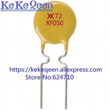 100 RXEF050 XF050 72V 0.5A 500MA PÇS/LOTE Auto recuperação fusível PPTC
