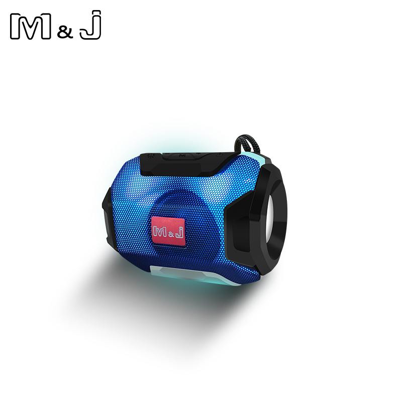 M&J Mini Wireless Bluetooth Speaker With LED TF Support USB Sub Woofer And Mp3 Stereo Audio Music Player 10