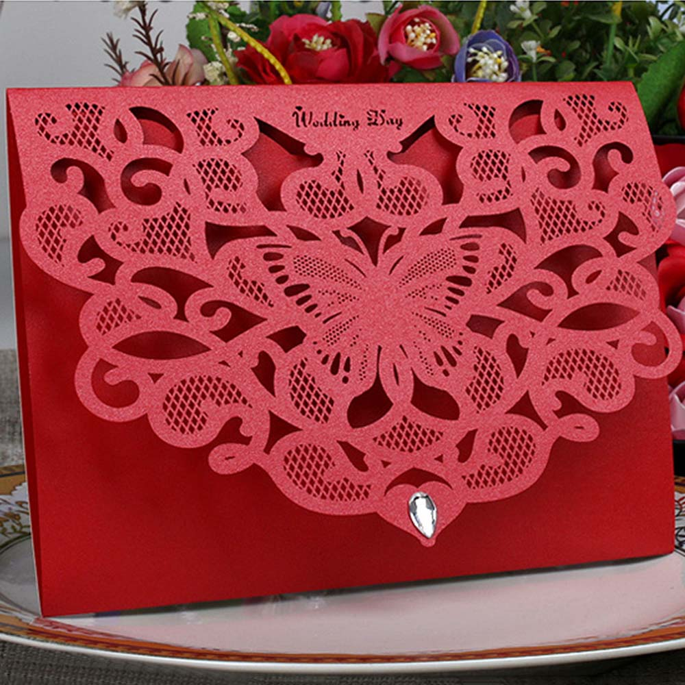 Results of top laser cut wedding invitations 50pcs in Nadola