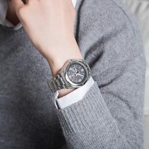 Image 5 - Casio Watch Horloge mannen Quartz Analoog Sport Klok Heren Horloges top brand Luxe 100 m Waterdicht Roestvrij Stalen Militaire Polshorloge Relogio Masculino EF 129 Relojes