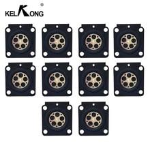 10 قطع kelkong المكربن الحجاب الحاجز ل serires C1Q S ل stihl trimmer HS45/FS38/FS55/BG45 zama RB 100 GND 56 إصلاح أجزاء