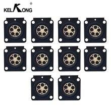 Diaframma del carburatore di KELKONG 10Pcs per le Serires di C1Q S per le parti di riparazione del RB 100 del regolatore HS45 / FS38 / FS55/BG45 Zama GND 56 di Stihl