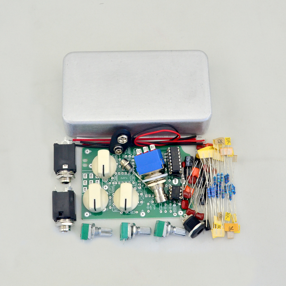 DIY  Delay  Analog Pedal  kit True Bypass High Quality Guitar Effect Pedal aroma adl 1 true bypass delay electric guitar effect pedal high quality aluminum alloy guitar accessories delay range 50 400ms