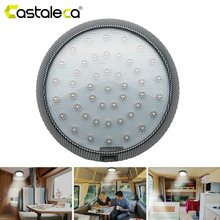 цена на Vehicle Reading Light 46-LED Round Car Auto Interior Roof Ceiling Dome Indoor reading Trunk Light Super Bright Lamp White 12V