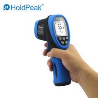 HoldPeak HP 1320/1500 D:S 30:1 Digital IR Thermometer Non Contact Laser Infrared Temperature Instrument Pyrometer 50 1500'C