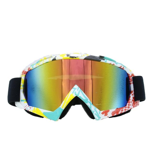29bf417956f FDBRO Snowboard Mask Snowboarding Masks Ski Goggles Sunglasses Anti UV400  Snowblindness Print Eyewear Skiing Portable Goggle