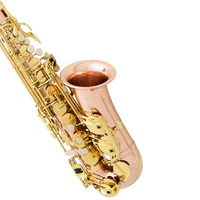 NEW France SELMER E Flat Alto Saxophone Gold Lacquer Sax Music Instruments Perfect Quality Free Shipping
