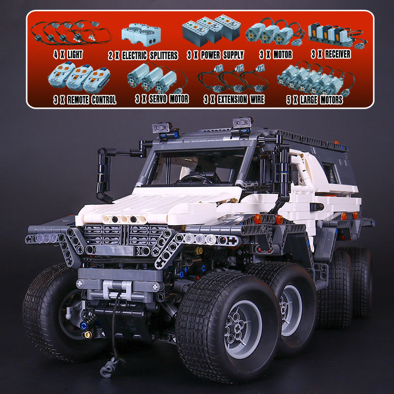 Lepin 23011 23011B Technic Series Off-road Vehicle Model Car Building Kits Block Educational Bricks Compatible Toys Gift 5360