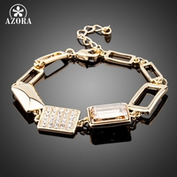 Gorgeous 18K Gold Plated SWA Element Austrian Crystal Bracelets FREE SHIPPING Azora TS0040