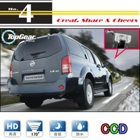 Car Camera For Nissan Pathfinder R51 2005~2014 High Quality Rear View Back Up Camera For PAL / NTSC to Use | RCA