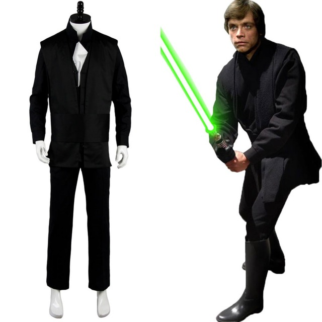 Star Wars Costume Return Of The Jedi Luke Skywalker Outfit Uniform