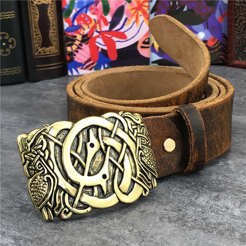 Gold Metal Belt Buckle Luxury Men Belt Leather Genuine Ceinture Homme Leather Belt For Men Jeans