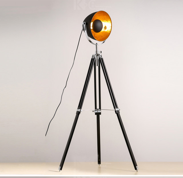 Online shop creative tripod searchlight loft country industry creative tripod searchlight loft country industry vintage floor lamps with edison bulbs living room light fixtures aloadofball Gallery