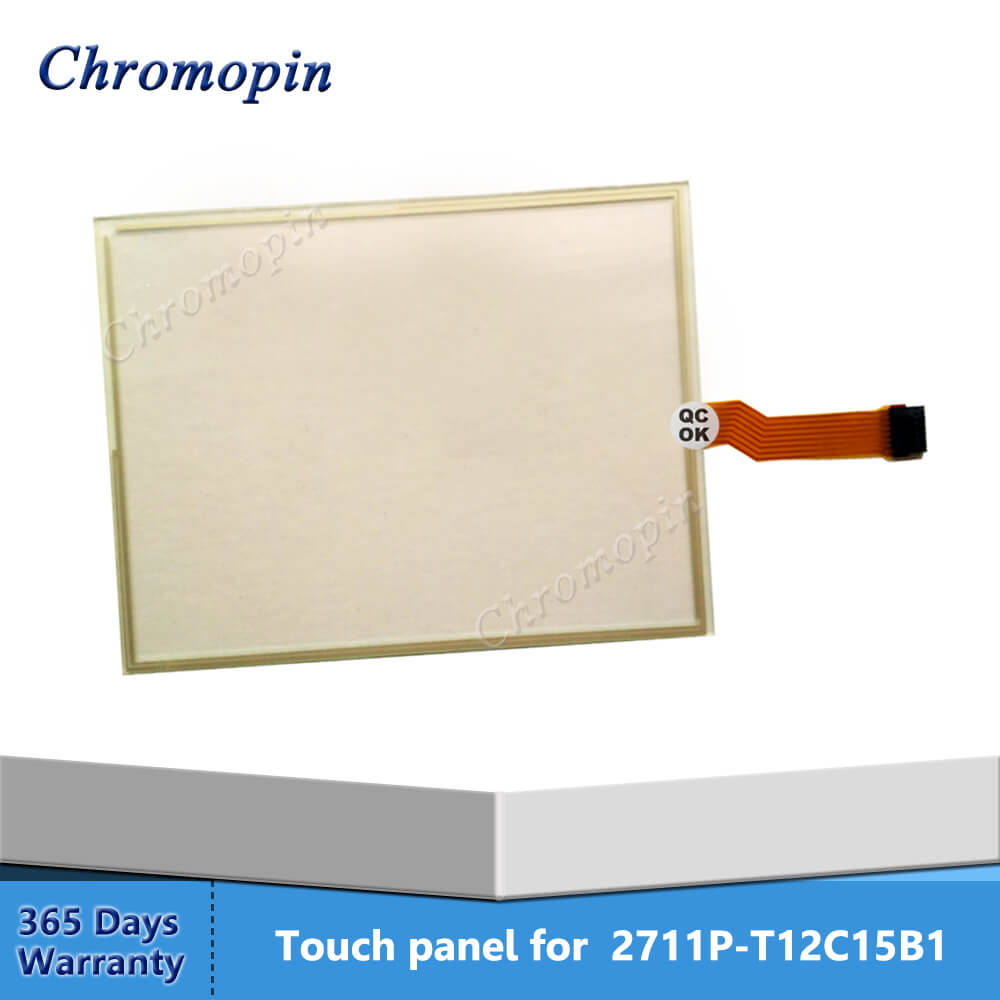 Touch panel screen for AB 2711P-T12C15B1 2711P-T12C15A7 2711P-T12C4A6 2711P-T12C15B2 PanelView Plus 1250