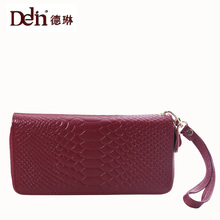 DELIN The new lady crocodile handbags fashion brand handbags leather wallet leather hand bags wholesale